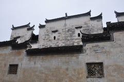 Traditional Hui style architecture in Wuyuan County-Jiangxi province-China. Traditional well-preserved ancient Hui style architecture in Wuyuan County-Jiangxi Stock Image
