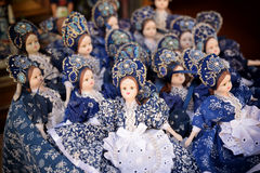 Traditional Hungarian Dolls Royalty Free Stock Photos
