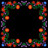 Traditional Hungarian folk embroidery pattern Royalty Free Stock Photo