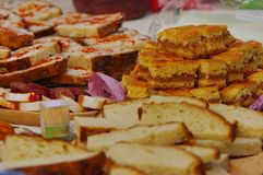 Traditional food 2. Traditional hungarian food on the winter end carnival royalty free stock photography