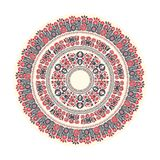 Hungarian round ornament Royalty Free Stock Photography