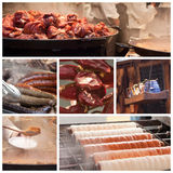Traditional hungarian specialties Stock Images
