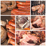 Traditional hungarian specialties Royalty Free Stock Images