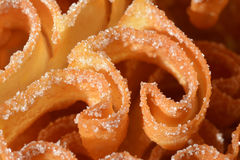 Traditional hungarian sweets, roses donuts Royalty Free Stock Photography