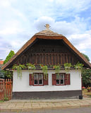 Traditional hungarian village house Royalty Free Stock Photos