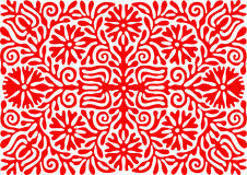 Traditional Hungarian vintage embroidery pattern. (region: Buzsak royalty free illustration