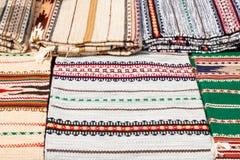 Traditional hutsul carpets Royalty Free Stock Photography