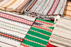 Traditional hutsul carpets Stock Images