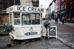 Traditional Ice Cream Kiosk Royalty Free Stock Photo
