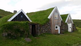 Traditional Iceland Farm House stock photos