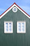 Traditional Icelandic Architecture Stock Photography