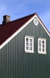Traditional Icelandic Architecture Stock Photo