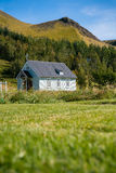 Traditional Icelandic church Royalty Free Stock Image