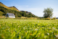 Traditional Icelandic church Royalty Free Stock Photography