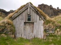 Traditional Icelandic Turf House Stock Image