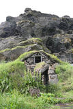 Traditional Icelandic Turf Houses Royalty Free Stock Images
