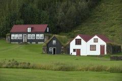 Traditional iclandic houses Stock Photos