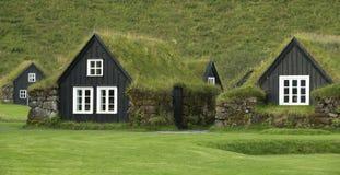 Traditional iclandic houses Stock Image