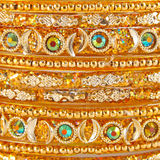 Traditional Indian bangles stock photo