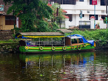 Traditional Indian boats in Alleppey Royalty Free Stock Images