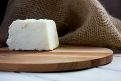 Traditional indian cheese panneer prepared form fresh milk Royalty Free Stock Photo