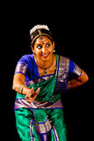 Traditional Indian Dance Expression Royalty Free Stock Photos