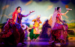 Traditional Indian Dance Stock Photography