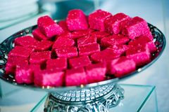Traditional Indian deserts and sweets royalty free stock photo