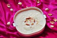 Traditional Indian Dessert kheer Royalty Free Stock Image