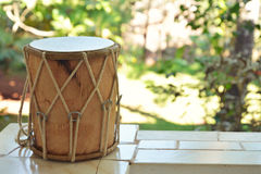 Traditional Indian drum Stock Image