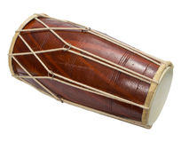 Traditional Indian drum Royalty Free Stock Images