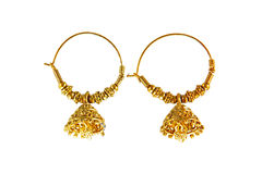 traditional  indian earrings Stock Photography