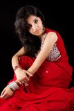 Traditional indian fashion Royalty Free Stock Photos