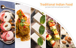 Traditional indian food Stock Photos