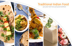 Traditional indian food Royalty Free Stock Image