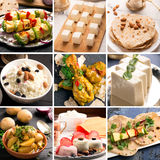 Traditional indian food Stock Photo