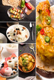 Traditional indian food Stock Images