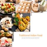 Traditional indian food Stock Photos