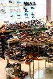 Traditional Indian Footwear Retail Outlet Stock Image