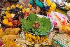 Traditional Indian Hindu ceremony Stock Photos