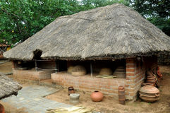 Traditional indian hut Royalty Free Stock Photography