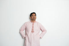 Traditional indian male portrait Royalty Free Stock Photography