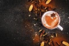Traditional indian masala chai tea stock photography