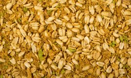 Traditional indian noori namkeen peanuts Royalty Free Stock Photography