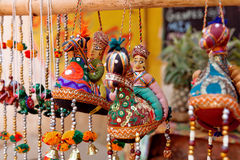 Traditional Indian puppets Royalty Free Stock Photos