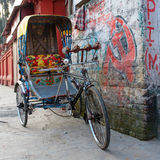 Traditional indian rickshaw Stock Photography