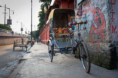 Traditional indian rickshaw Royalty Free Stock Images
