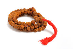 Traditional indian rosary for meditation - mala Stock Photography
