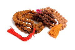 Traditional indian rosary for meditation - mala Royalty Free Stock Photos