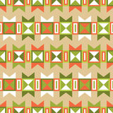 Traditional Indian Seamless Ornament Royalty Free Stock Photo